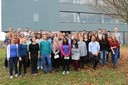 Gruppenfoto 2015 Lehrstuhl Biomedizinische Mikrotechnik